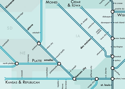 Mississippi Metro Map