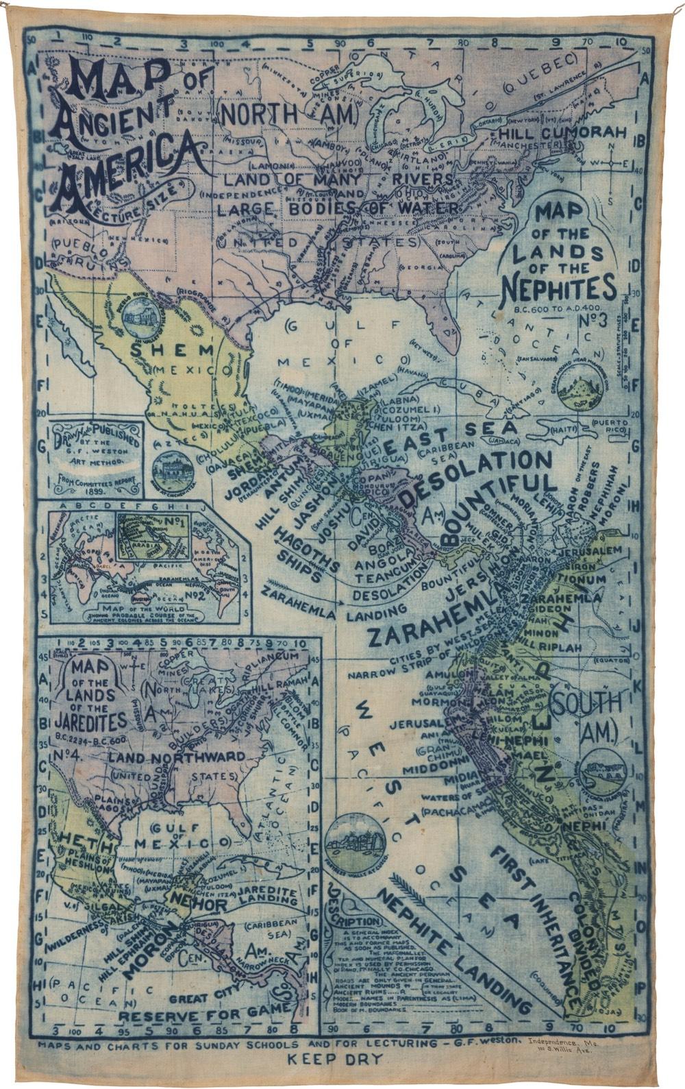 Mormon Map Banner