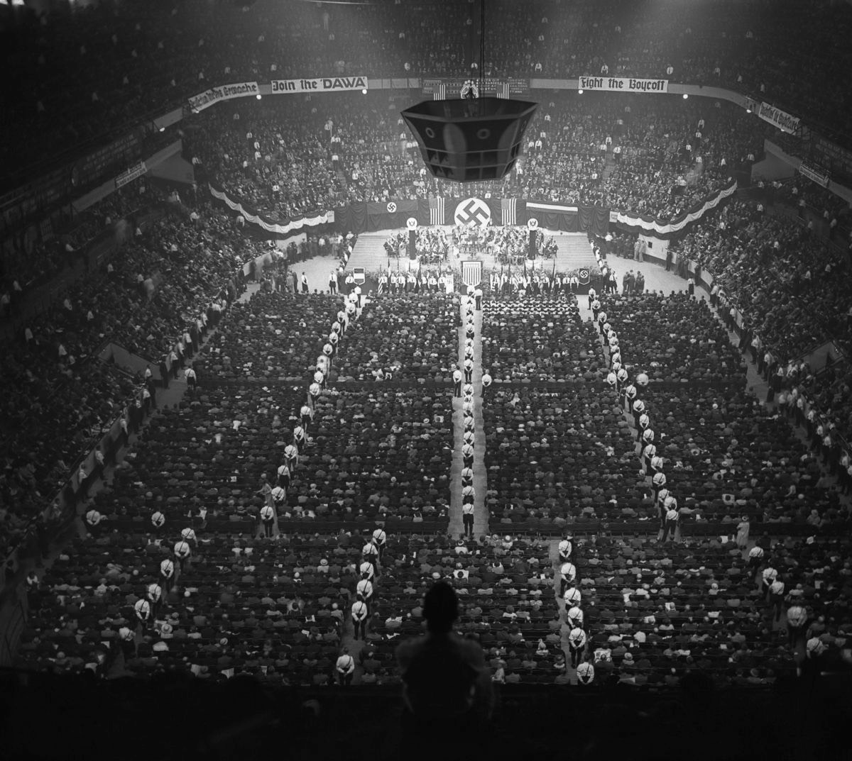 Nazi rallies in madison square garden in the 1930s nazi nyc biocorpaavc Image collections