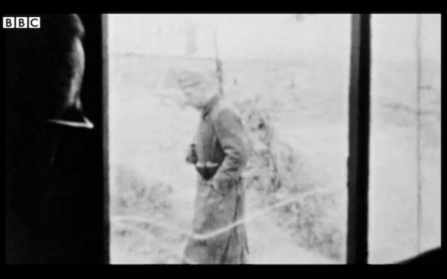 Incredible footage from a WWII prison camp