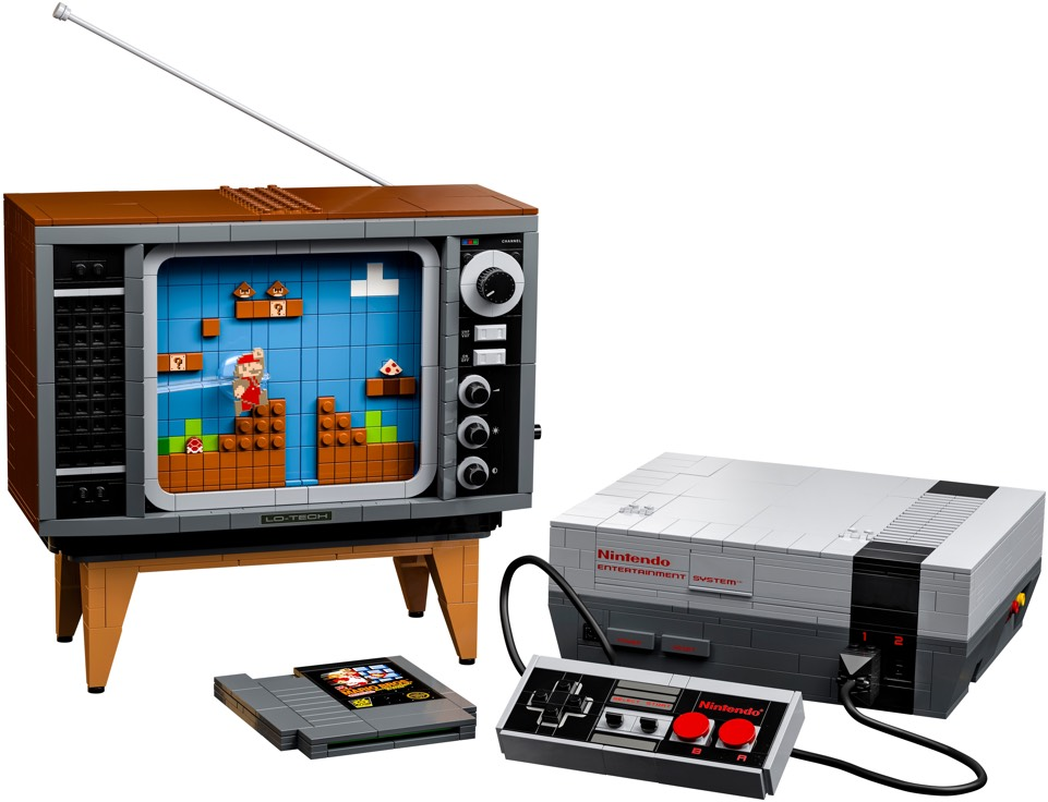 Lego set of the Nintendo Entertainment System