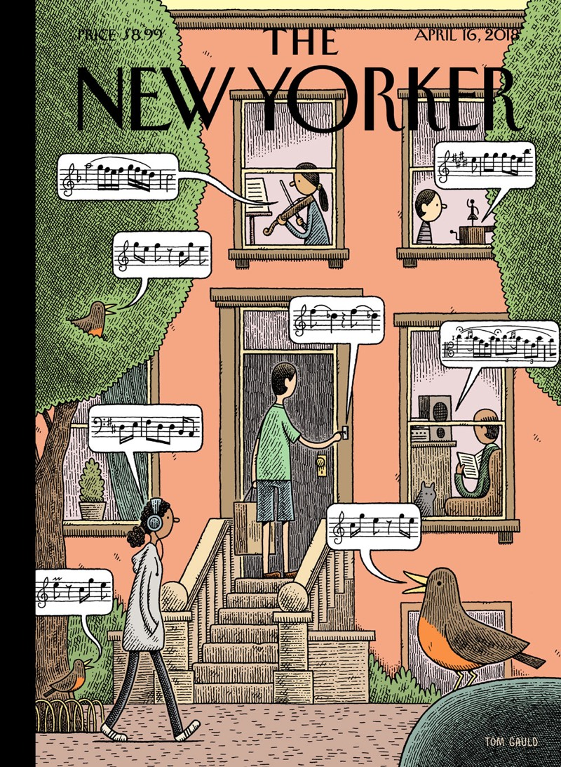 New Yorker Audio Cover