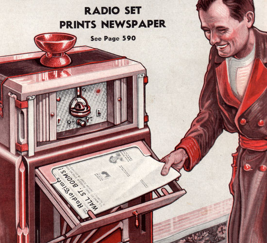 Newspaper Radio
