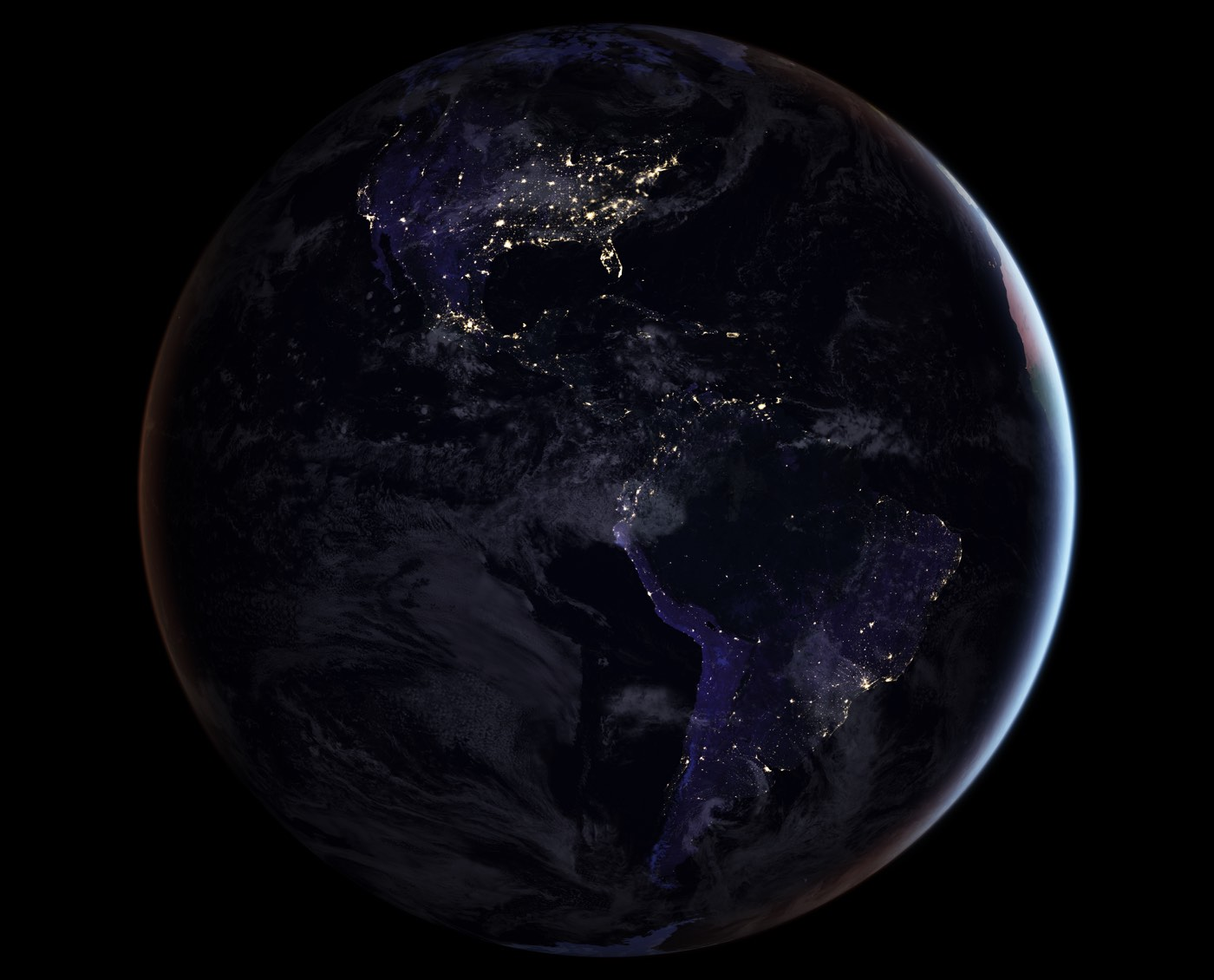 New Map Of Earth.Nasa S New Nighttime Map Of The Entire Earth
