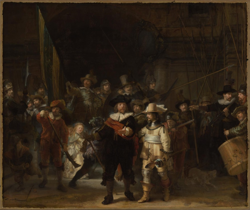 The Rijksmuseum Has Released a 44.8 Gigapixel Image of Rembrandt's The Night Watch