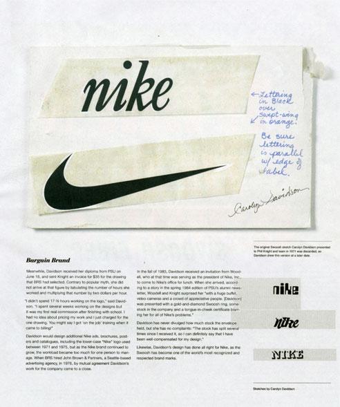 40th anniversary of nike u2019s swoosh