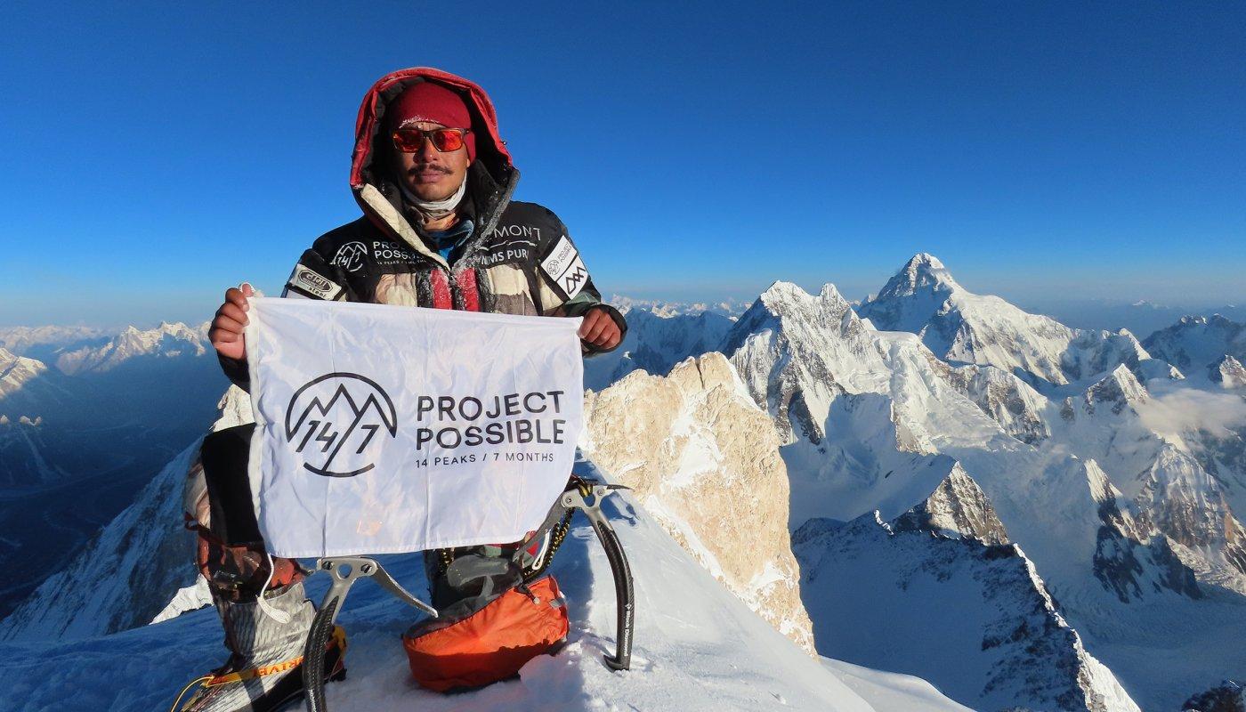 Nepalese climber Nirmal Purja