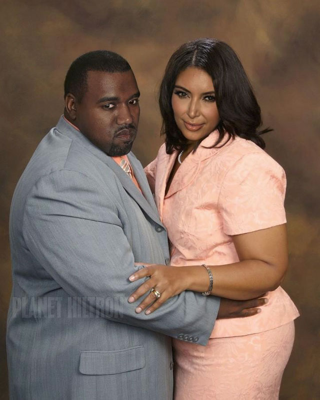 Normal Kanye and Kim