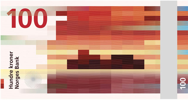 Norway Pixel Banknote