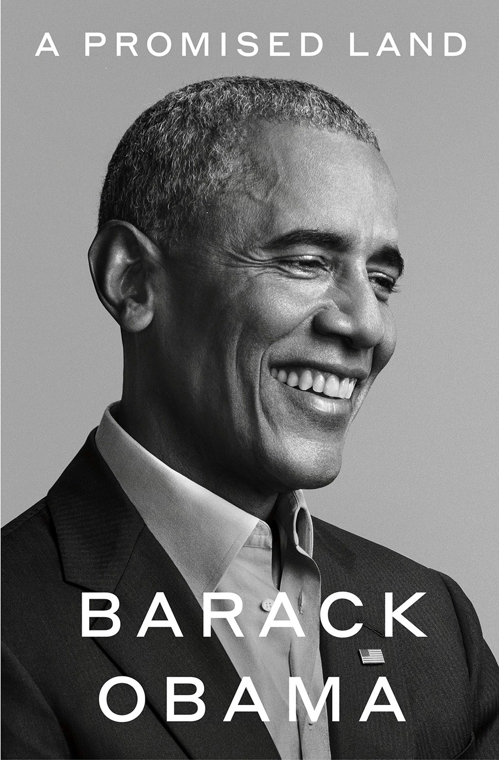 Cover of Barack Obama's book, A Promised Land