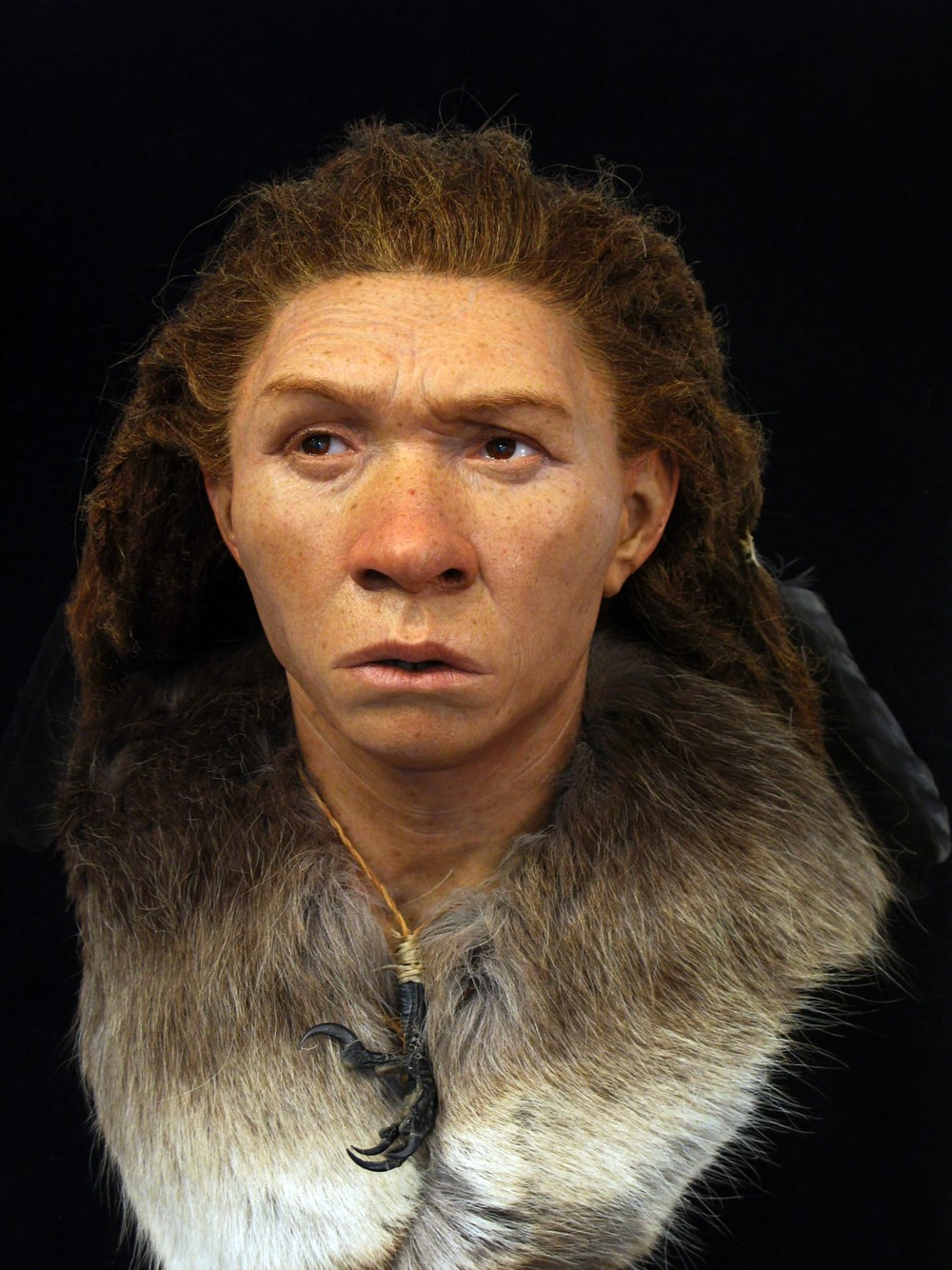 Hand-Sculpted Archaeological Reconstructions of Ancient Faces
