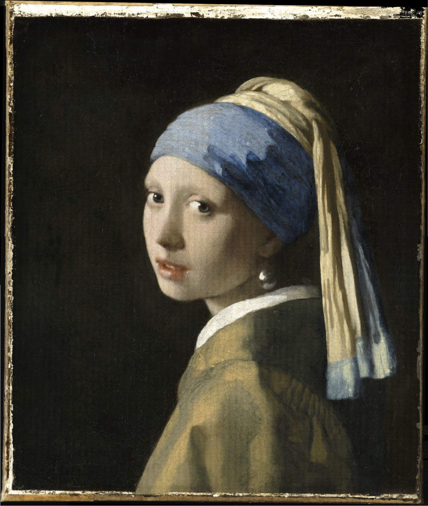 An Incredible 10-Gigapixel Scan of 'Girl With a Pearl Earring'
