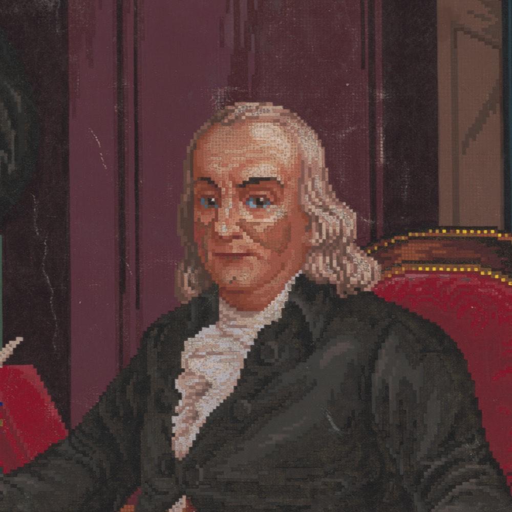 Pixel Ben Franklin