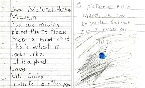 Pluto hate mail
