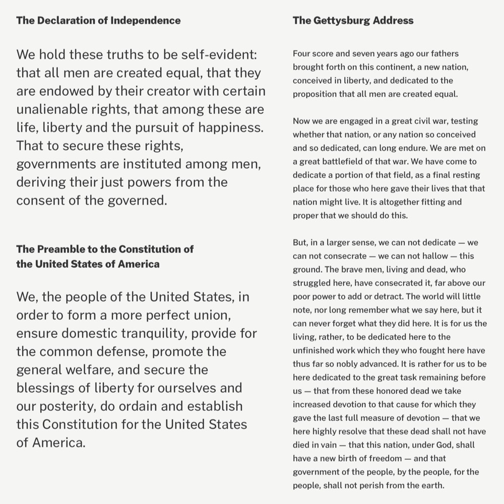 Public Sans, a New Typeface from the US Government