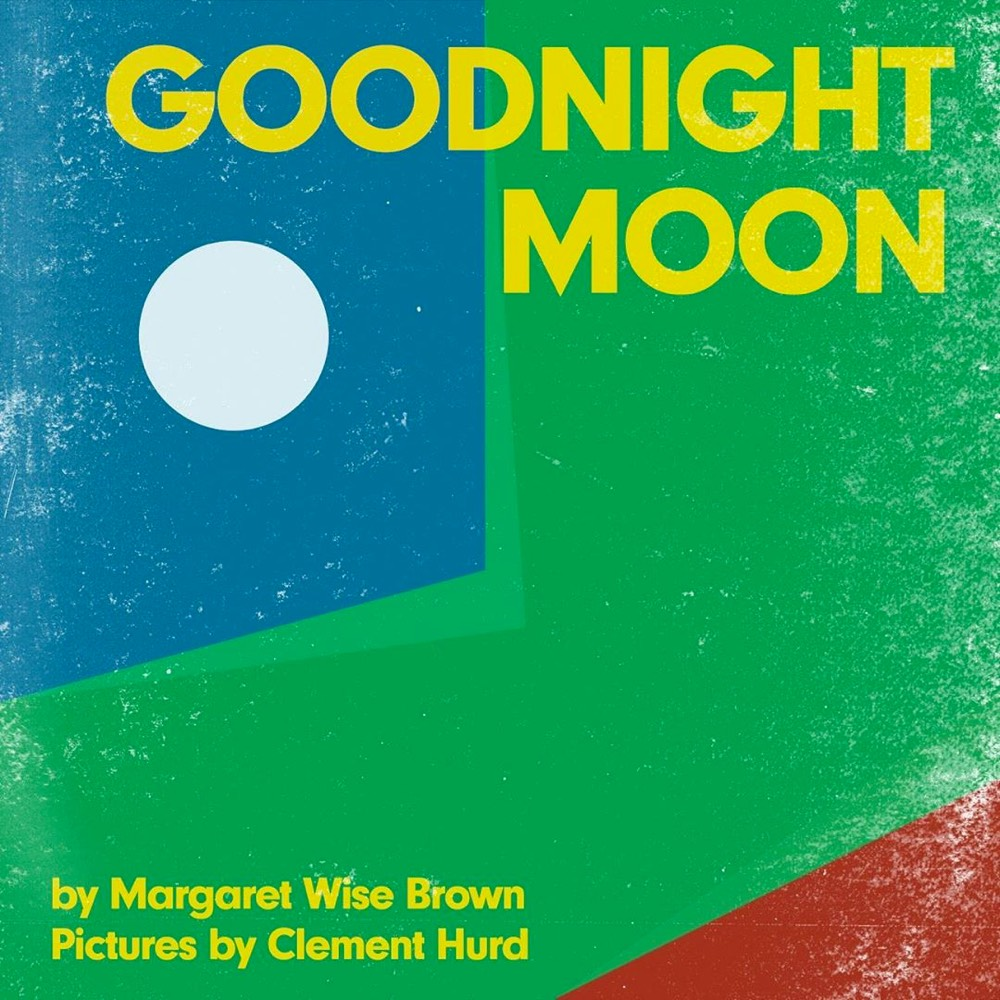 Modernist cover for Goodnight Moon