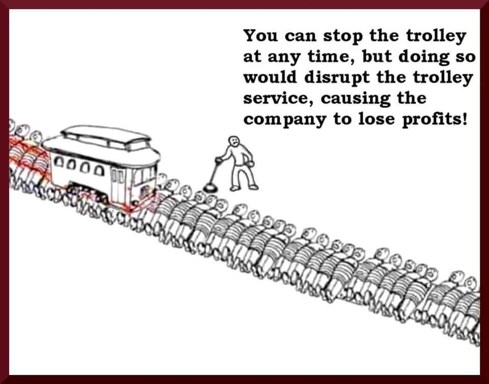 Real Trolley Problem