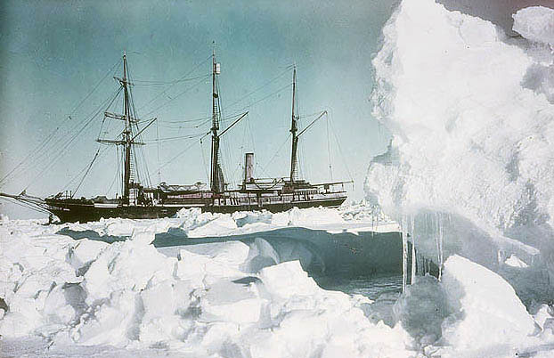 Shackleton in color