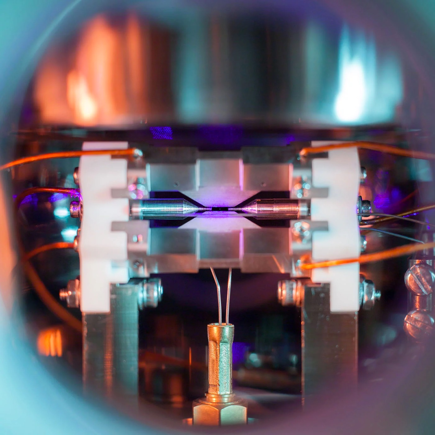 Single Atom Photo