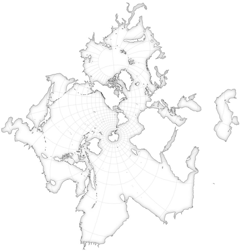 Spilhaus Map