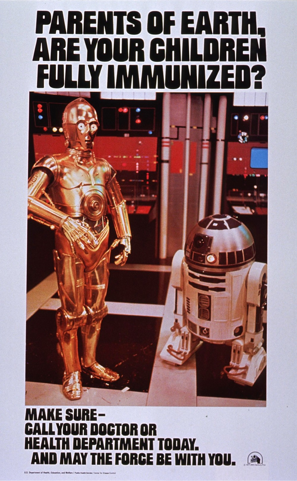 """R2-D2 and C-3PO Say """"Get Vaccinated!"""""""