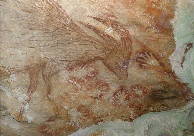 Sulawesi Cave Paintings