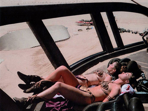 Tatooine sunsbathing