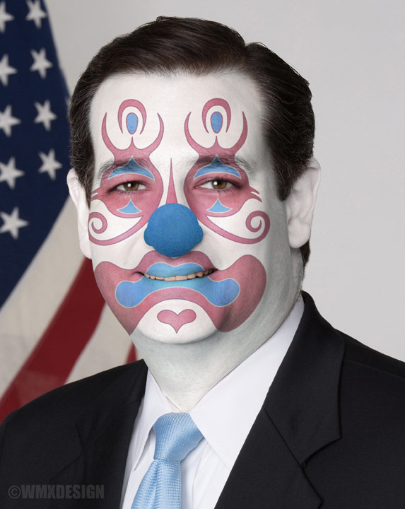 Ted Cruz is a clown