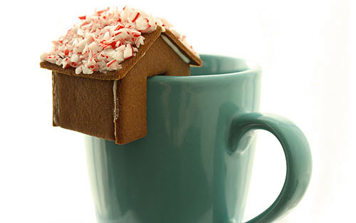 Tiny gingerbread house