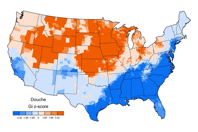 Maps Of The United States Of Swearing - Orange map us states