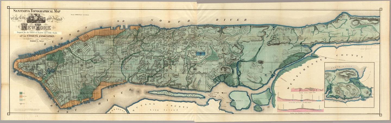 Viele Map Of Manhattan