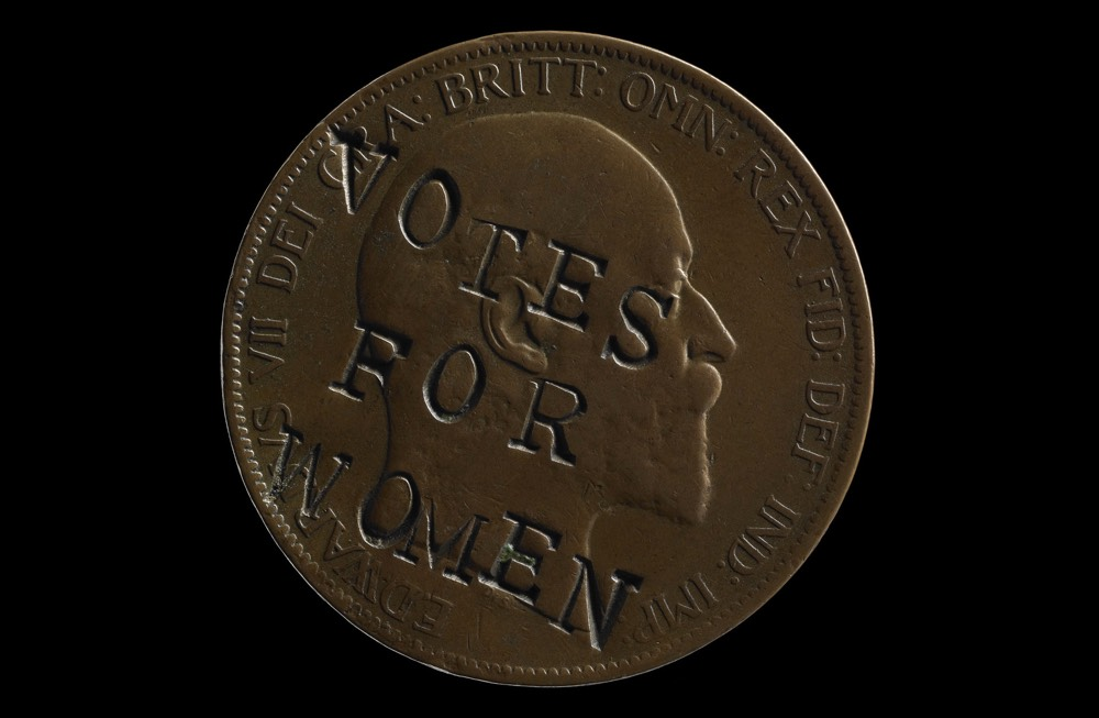 Votes For Women Coin