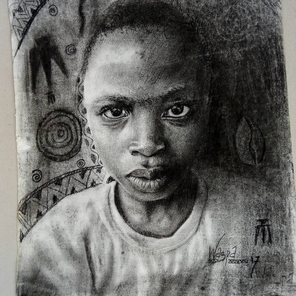 The hyperrealistic drawings by this 11 year old nigerian artist are incredible