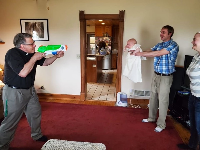 Water Gun Baptism