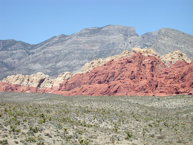 the red rock at red rock